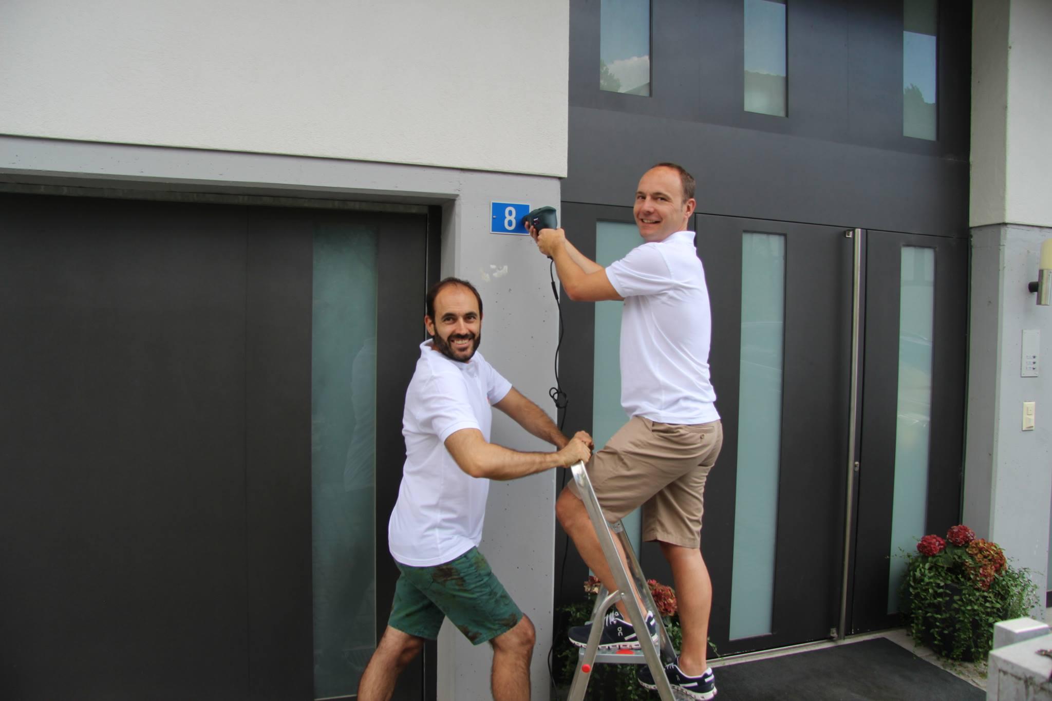 Matteo und Ralf